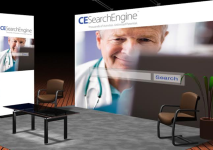 CE Search Engine Booth
